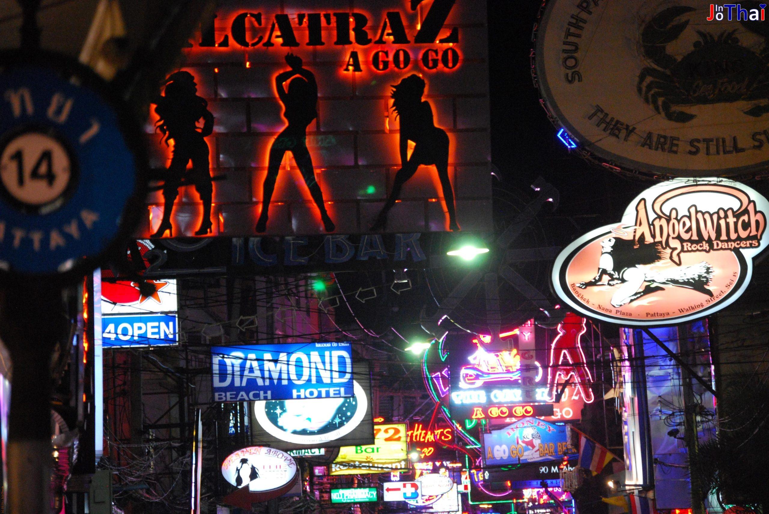 Lucifer Disco in der Walking Street in Pattaya - Thailand