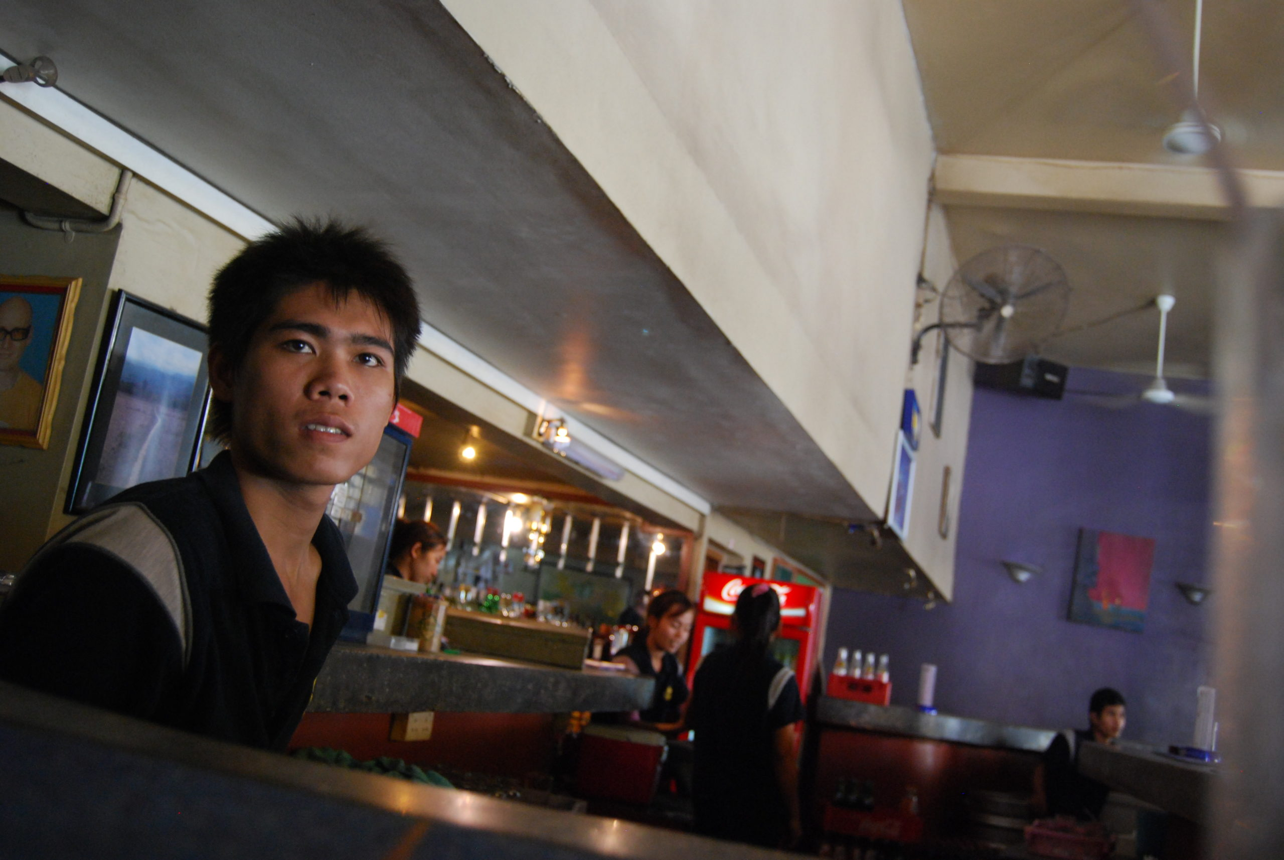 Im Walkabout Hotel an der Bar in Phnom Penh - Cambodia
