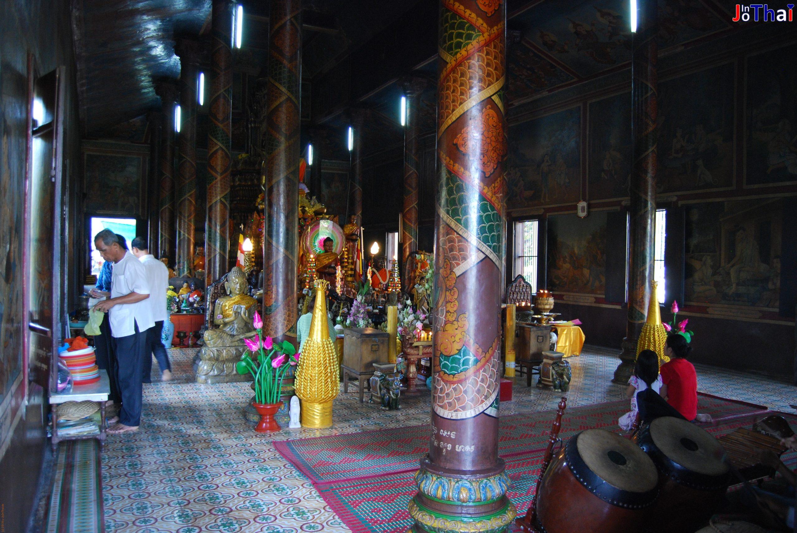 Wat Phnom Daun Penh (Hügeltempel) von Innen