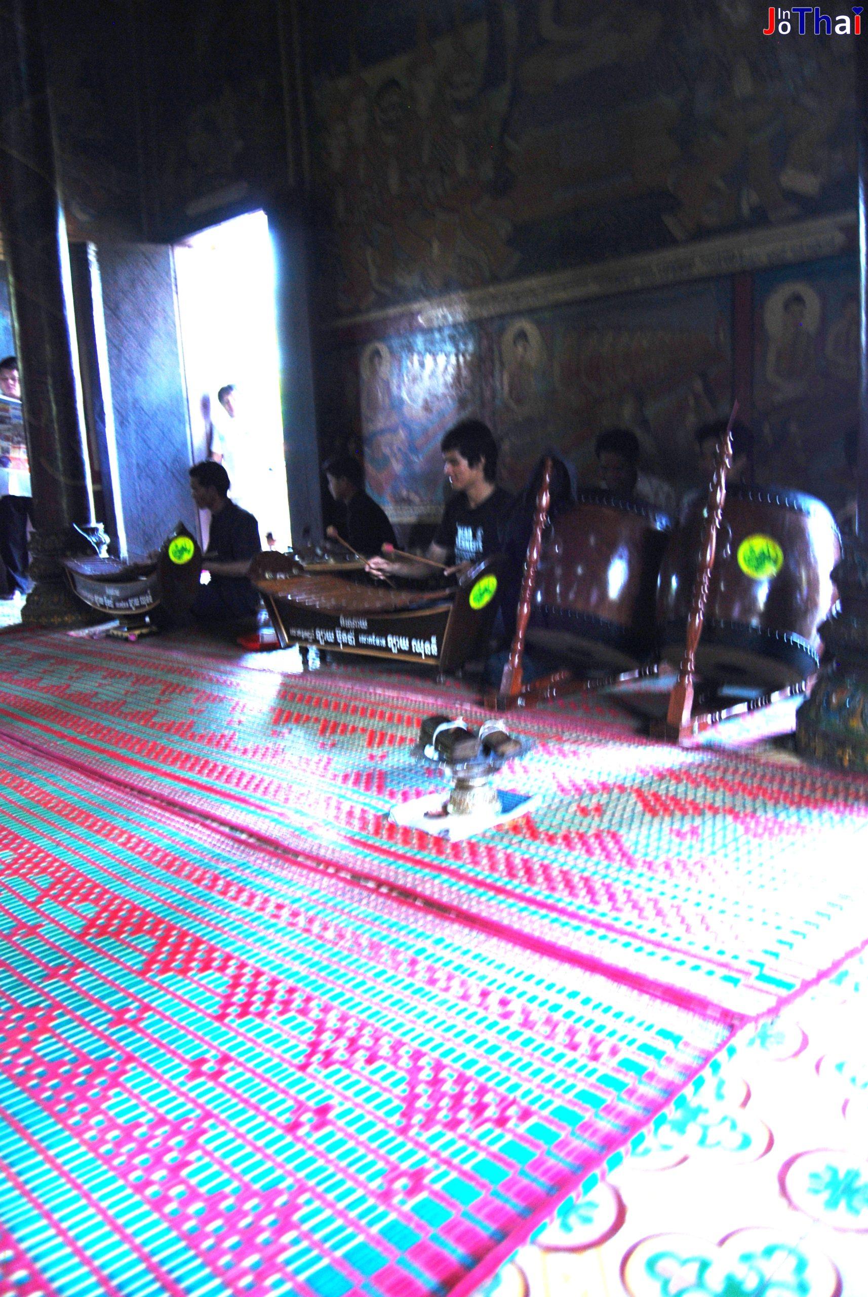 Musikgruppe im Wat Phnom – Phnom Penh – Kambodscha