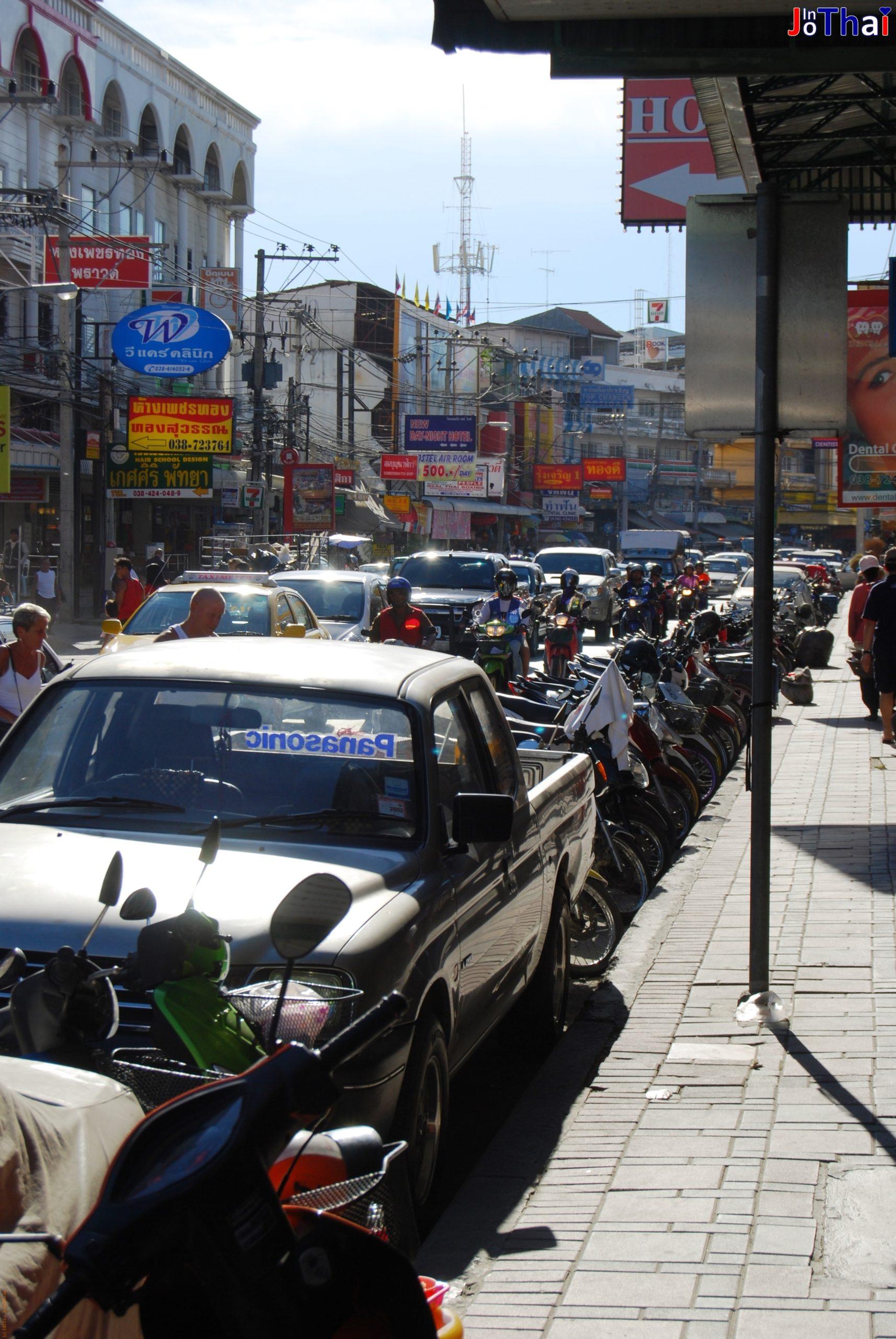 Unterwegs in Pattaya