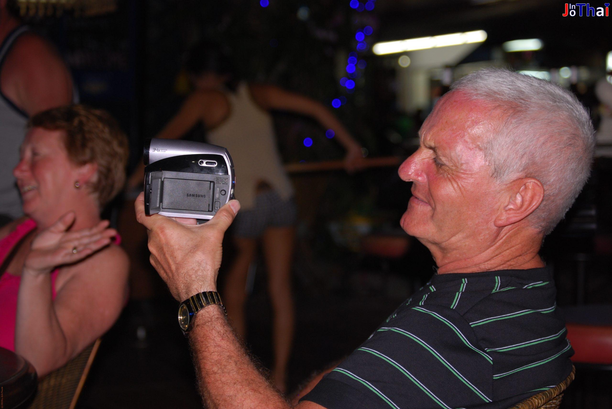 Amerikanische Bekannte - Leo's Blues Bar - Naklua - Banglamung - Pattaya - Thailand