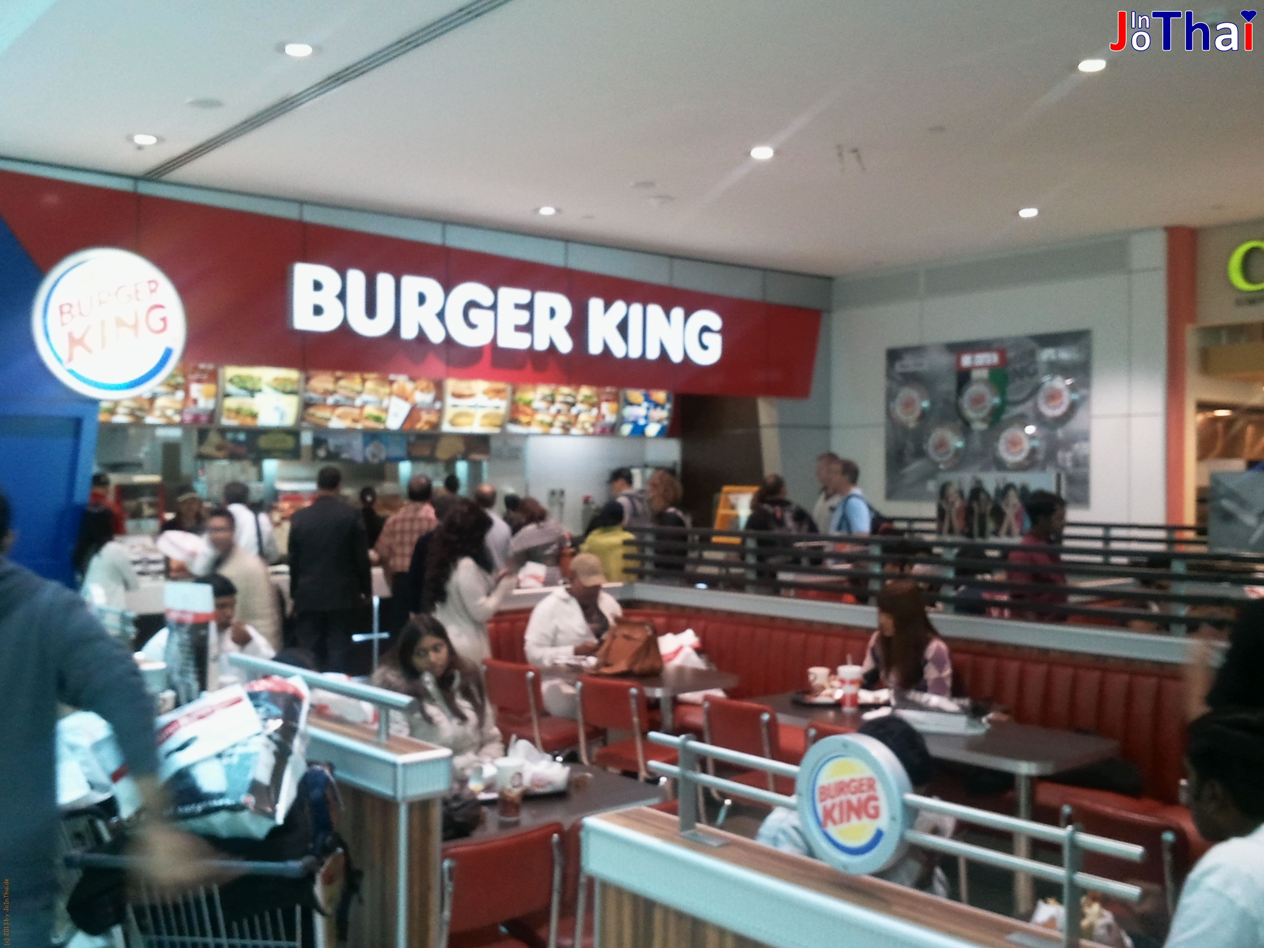 Burger King - Dubai International Airport -